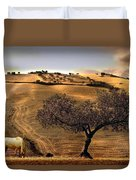 Rural Spain View Duvet Cover