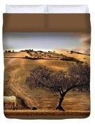 Rural Spain View Duvet Cover