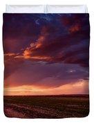 Rural Sunset Beauty Duvet Cover