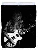 Rush 77 #17 Enhanced Bw Duvet Cover