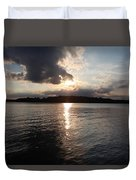 Rush Lake  Duvet Cover