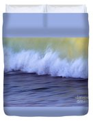 Rushing To Shore Duvet Cover