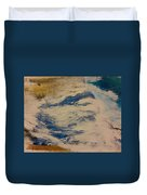 Rushing Waters Duvet Cover by Gregory Dallum