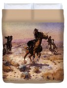 Russell Charles Marion At Rope S End Duvet Cover