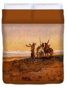 Russell Charles Marion Invocation To The Sun Duvet Cover