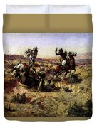 Russell Charles Marion The Broken Rope Duvet Cover
