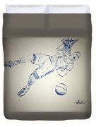 Russell Westbrook Duvet Cover
