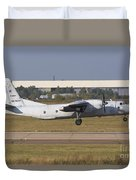 Russian Air Force An-26 Taking Duvet Cover