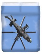 Russian Air Force Ka-52 Helicopter Duvet Cover
