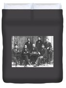 Russian Marxists, 1897 Duvet Cover