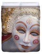 Russian Mask 4 Duvet Cover