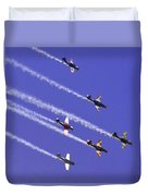 Russian Roolettes And Blue Sky Duvet Cover
