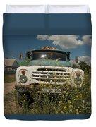 Russian Truck Duvet Cover