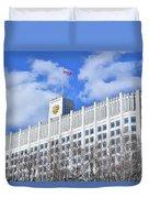 Russian White House Duvet Cover