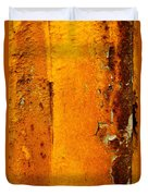 Rust Abstract 2 Duvet Cover