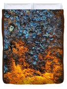 Rust Abstract 3 Duvet Cover