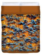 Rust Abstract 6 Duvet Cover