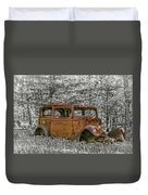 Rust In Peace Duvet Cover