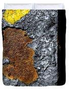 Rust On The Railroad Bridge Duvet Cover