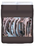 Rusted Shoes Duvet Cover