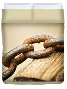Rusted Strength Duvet Cover