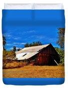 Rustic Barn Of Newcastle Duvet Cover