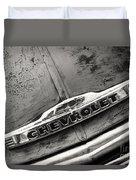 Rustic Chevrolet Duvet Cover