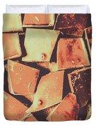 Rustic Choc Block Duvet Cover