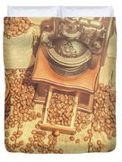 Rustic Country Coffee House Still Duvet Cover