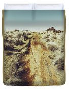 Rustic Country Trails Duvet Cover