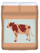 Rustic Cow Duvet Cover