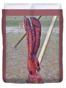 Rustic Eagle 2 Duvet Cover