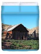 Rustic In Colorado Duvet Cover