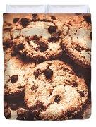 Rustic Kitchen Cookie Art Duvet Cover