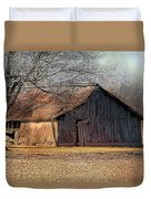 Rustic Midwest Barn Duvet Cover