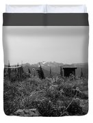 Rustic Montana View Duvet Cover