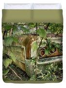 Rustic Rear Duvet Cover