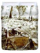 Rustic Rural Decay Duvet Cover