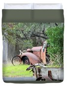 Rustic Truck Duvet Cover