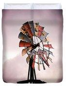 Rustic Windmill Duvet Cover