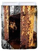 Rusting Away Duvet Cover