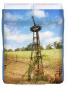 Rusty Garden Feature Duvet Cover
