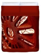Rusty Gear Duvet Cover