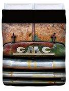 Rusty Gmc Truck Duvet Cover