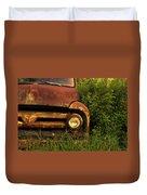 Rusty Gold  Duvet Cover