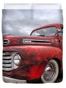 Rusty Jewel - 1948 Ford Duvet Cover