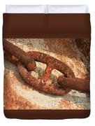 Rusty Links 1 Duvet Cover