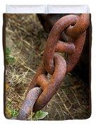 Rusty Links Duvet Cover