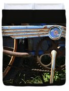 Rusty Old Bicycle . 7d15946 Duvet Cover