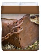 Rusty Old Ore Scoop Duvet Cover